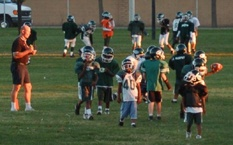 Tierra Bonita Peewee football game.