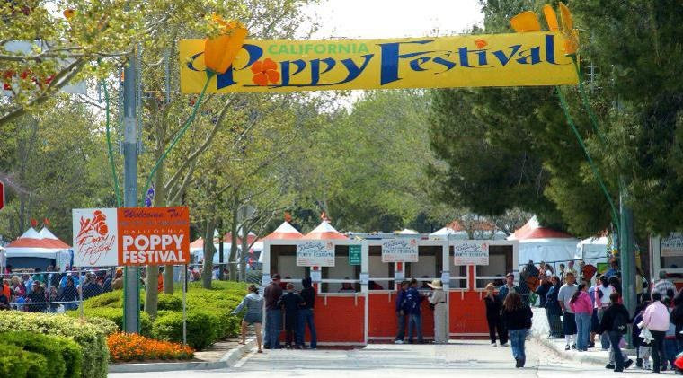 Entrance to the Poppy Festival