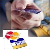 Visa or Mastercard Credit or Debit Card