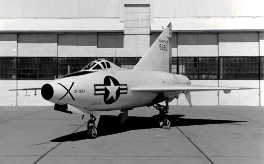 The XF-92A