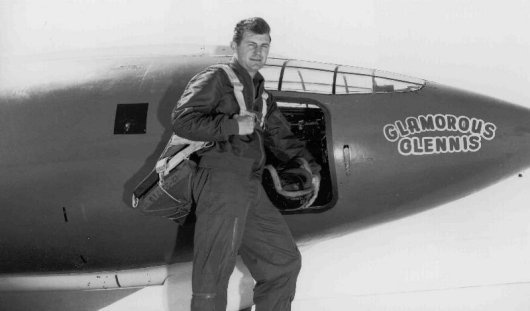 Yeager and the X-1 (The man and machine the broke the sound barrier).