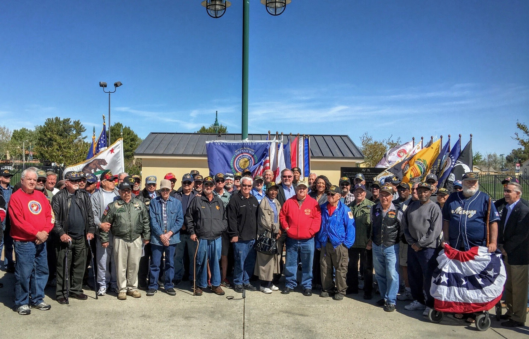 Vietnam Veterans group photo 3-23-16
