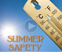Summer Safety Video Image