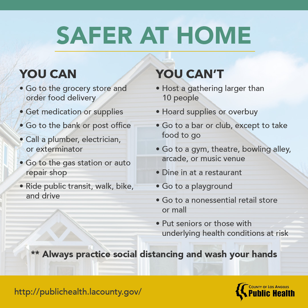 LACDOH-Safer at Home