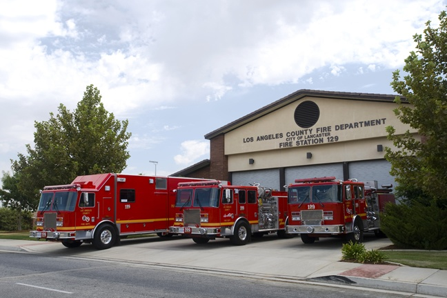 l a county fire department city of lancaster