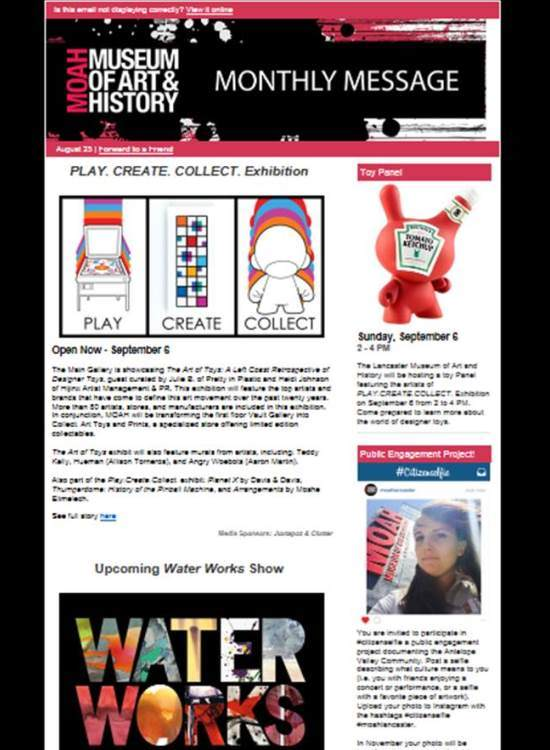 E-News signup pg_MOAHnews